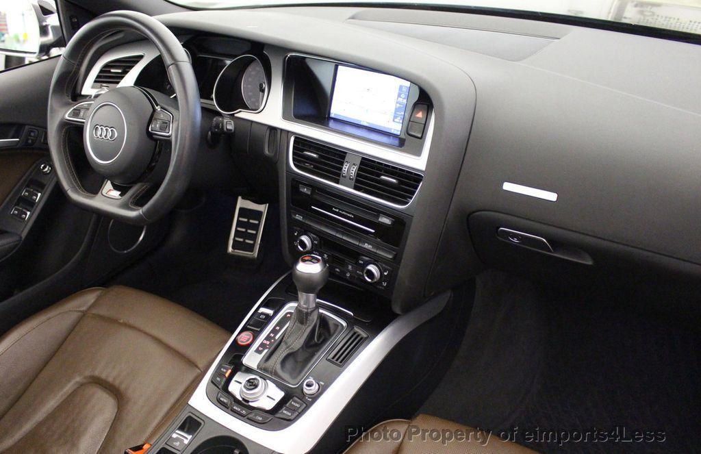 2015 Audi S5 Cabriolet CERTIFIED S5 3.0t Quattro AWD COMFORT TECH CAM NAVI - 17517063 - 32