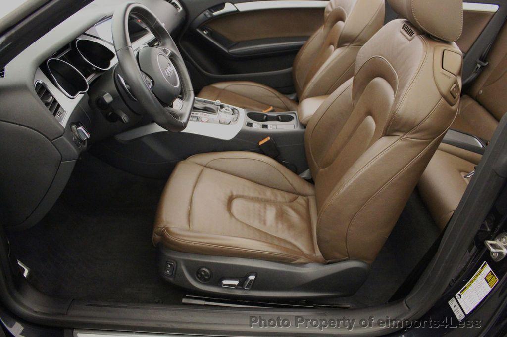 2015 Audi S5 Cabriolet CERTIFIED S5 3.0t Quattro AWD COMFORT TECH CAM NAVI - 17517063 - 33
