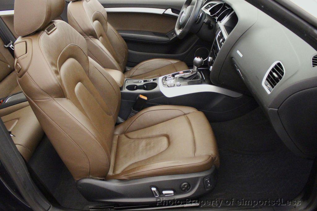 2015 Audi S5 Cabriolet CERTIFIED S5 3.0t Quattro AWD COMFORT TECH CAM NAVI - 17517063 - 34