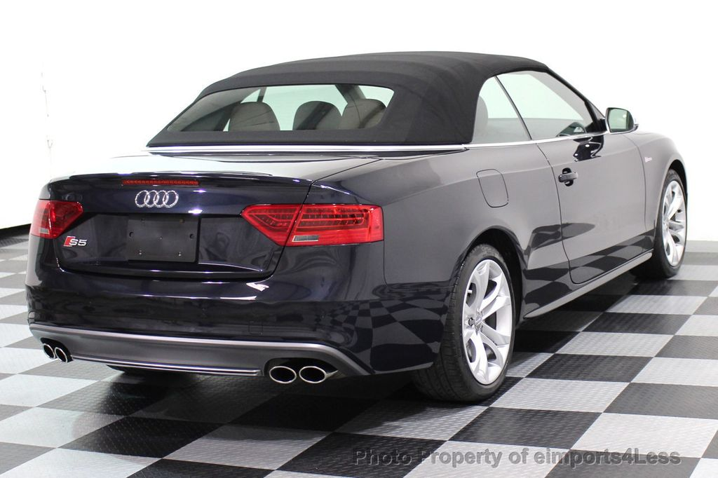 2015 Audi S5 Cabriolet CERTIFIED S5 3.0t Quattro AWD COMFORT TECH CAM NAVI - 17517063 - 3