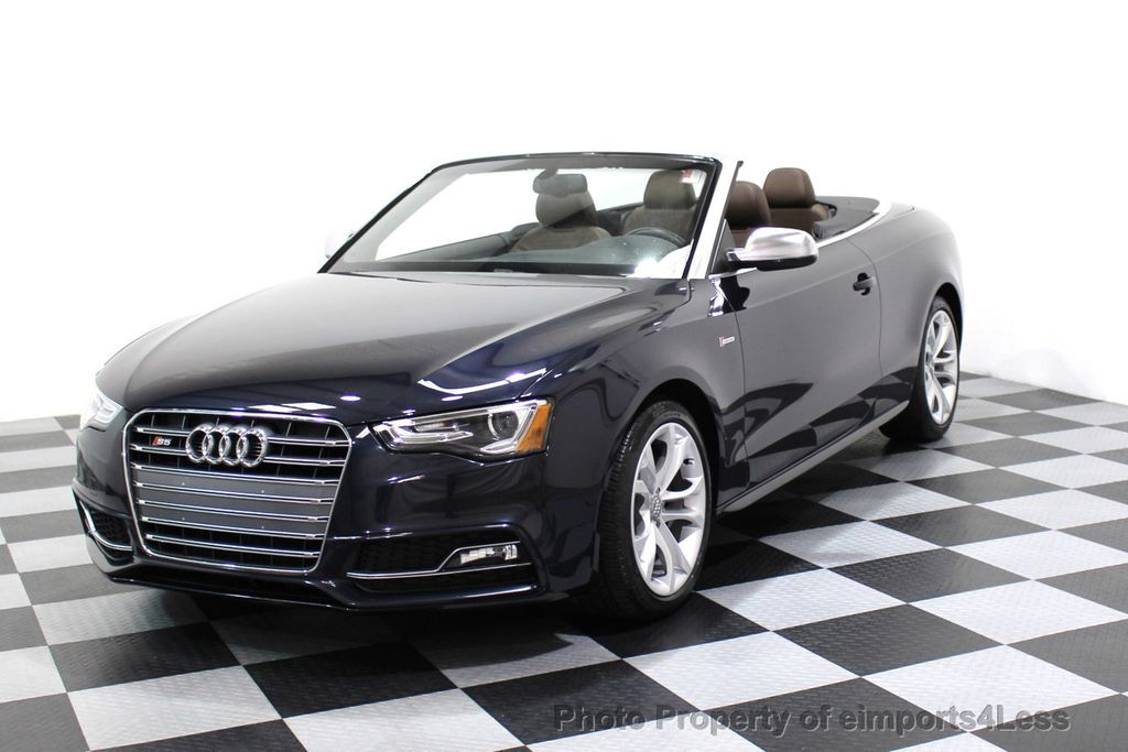 2015 Audi S5 Cabriolet CERTIFIED S5 3.0t Quattro AWD COMFORT TECH CAM NAVI - 17517063 - 39