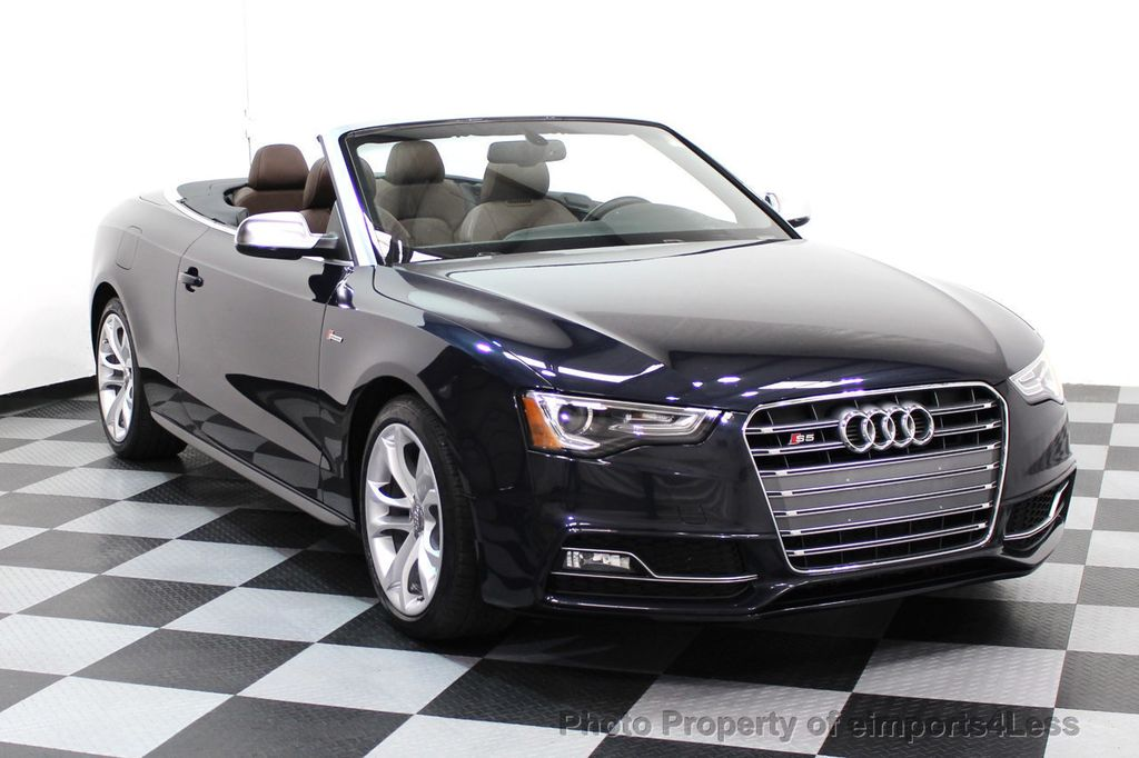 2015 Audi S5 Cabriolet CERTIFIED S5 3.0t Quattro AWD COMFORT TECH CAM NAVI - 17517063 - 40