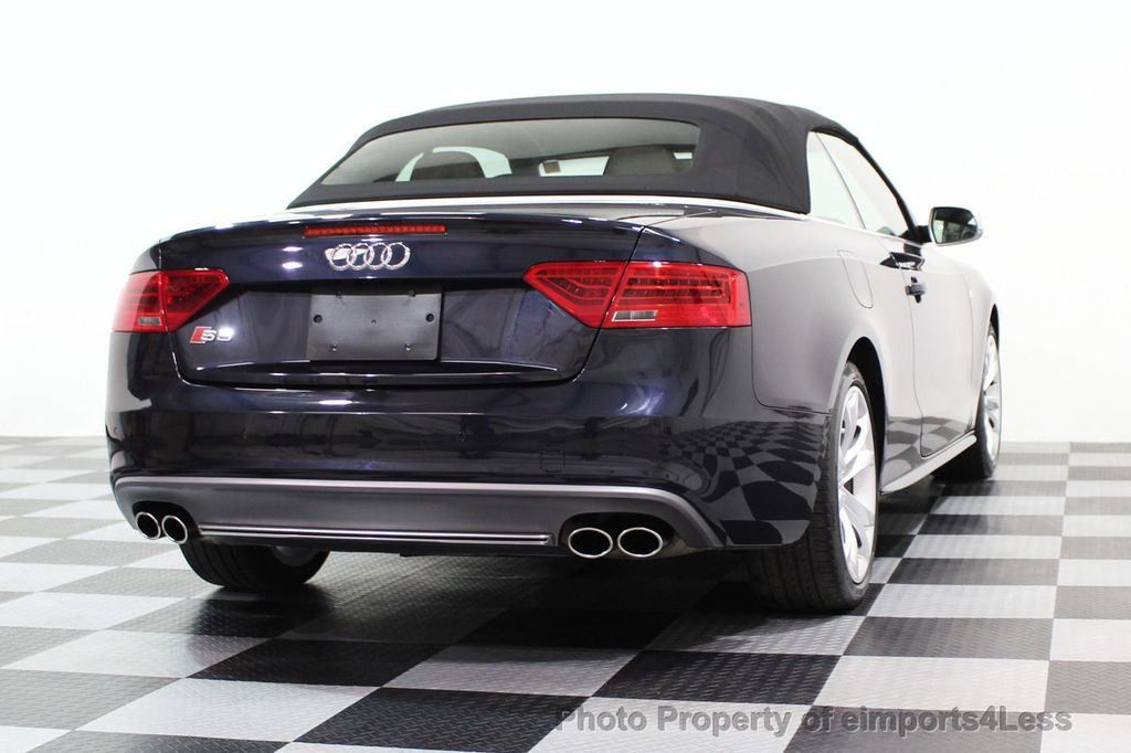 2015 Audi S5 Cabriolet CERTIFIED S5 3.0t Quattro AWD COMFORT TECH CAM NAVI - 17517063 - 42