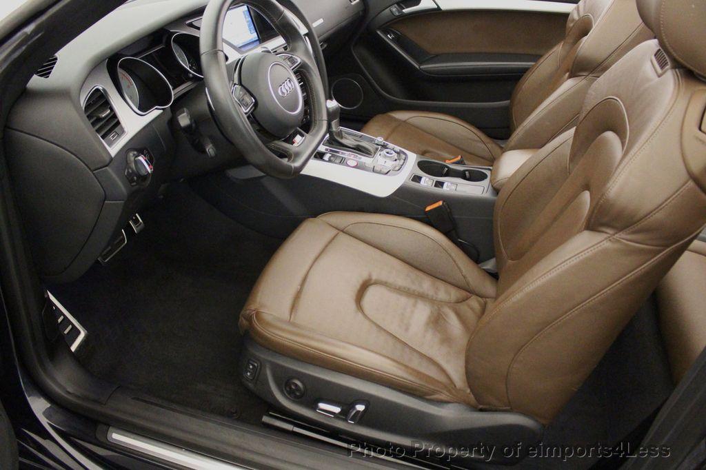 2015 Audi S5 Cabriolet CERTIFIED S5 3.0t Quattro AWD COMFORT TECH CAM NAVI - 17517063 - 43