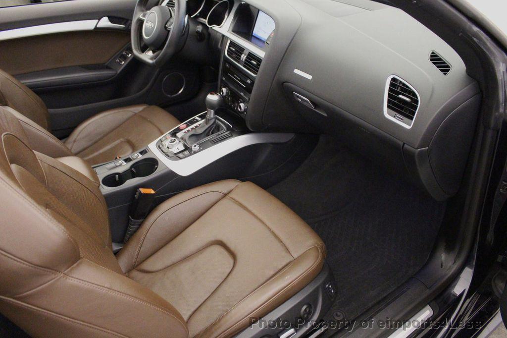 2015 Audi S5 Cabriolet CERTIFIED S5 3.0t Quattro AWD COMFORT TECH CAM NAVI - 17517063 - 44