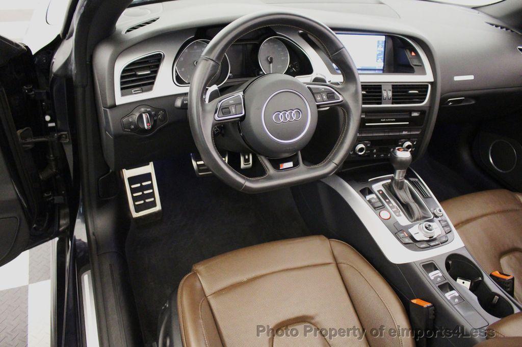 2015 Audi S5 Cabriolet CERTIFIED S5 3.0t Quattro AWD COMFORT TECH CAM NAVI - 17517063 - 45