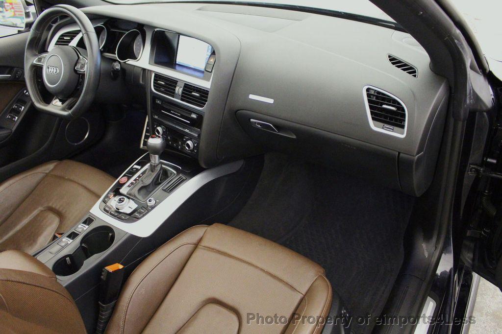 2015 Audi S5 Cabriolet CERTIFIED S5 3.0t Quattro AWD COMFORT TECH CAM NAVI - 17517063 - 46