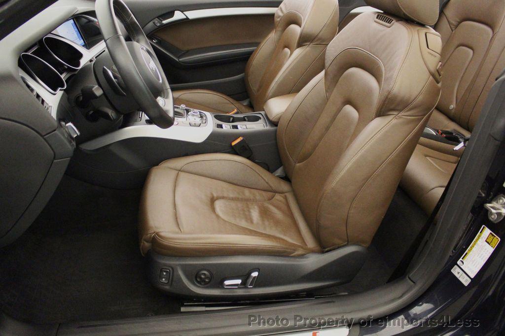 2015 Audi S5 Cabriolet CERTIFIED S5 3.0t Quattro AWD COMFORT TECH CAM NAVI - 17517063 - 47