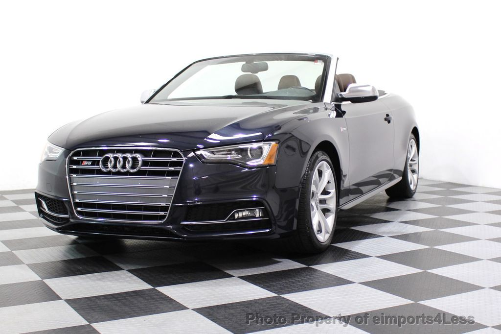 2015 Audi S5 Cabriolet CERTIFIED S5 3.0t Quattro AWD COMFORT TECH CAM NAVI - 17517063 - 48