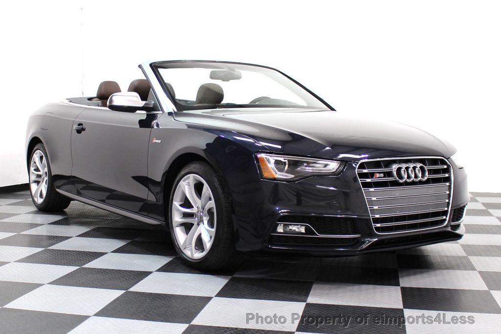 2015 Audi S5 Cabriolet CERTIFIED S5 3.0t Quattro AWD COMFORT TECH CAM NAVI - 17517063 - 50