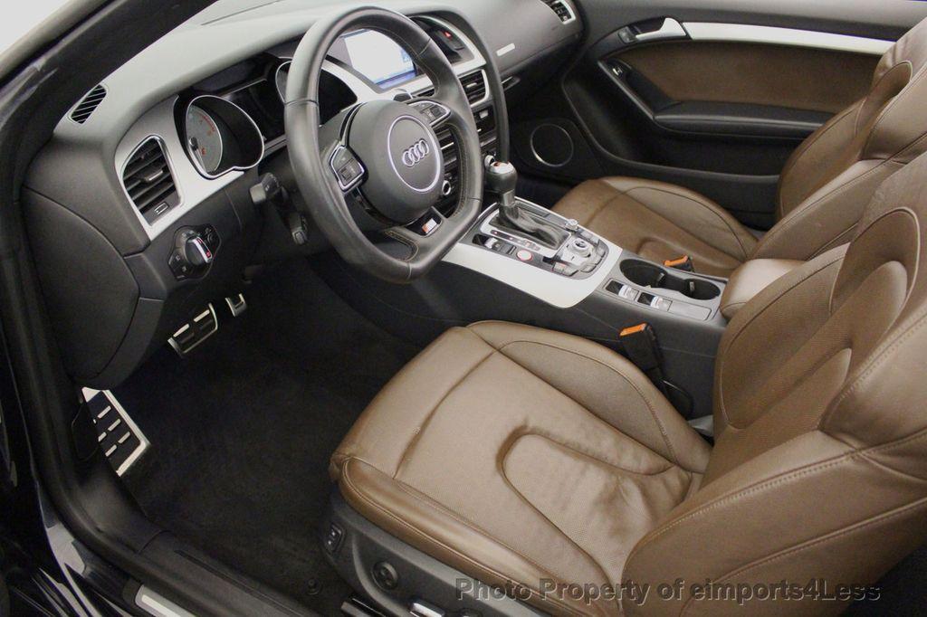 2015 Audi S5 Cabriolet CERTIFIED S5 3.0t Quattro AWD COMFORT TECH CAM NAVI - 17517063 - 7
