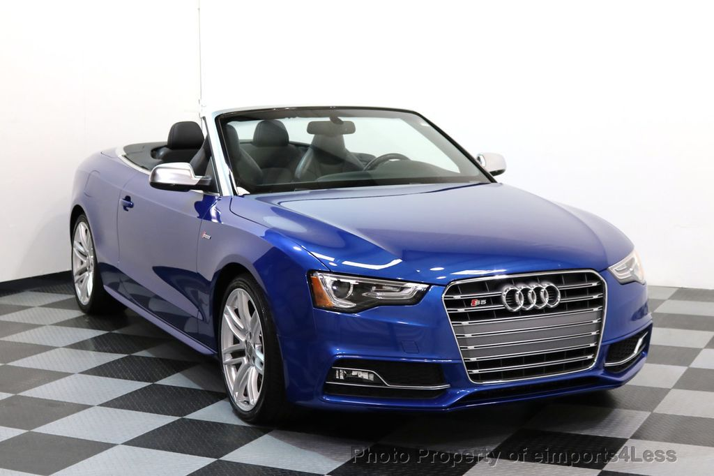 2015 used audi s5 cabriolet certified s5 quattro awd premium plus camera nav at. Black Bedroom Furniture Sets. Home Design Ideas