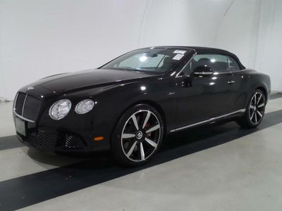 2015 Bentley Continental GT Speed 2dr Convertible