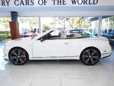 2015 Bentley Continental GT V8 S Mulliner Convertible
