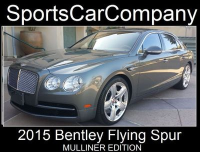 2015 Bentley Flying Spur FLYING SPUR MULLINER Sedan