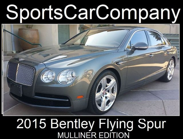 2015 Bentley Flying Spur FLYING SPUR MULLINER - 17492057 - 0