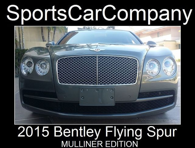 2015 Bentley Flying Spur FLYING SPUR MULLINER - 17492057 - 1