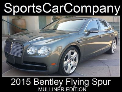 2015 Bentley Flying Spur FLYING SPUR MULLINER - Click to see full-size photo viewer
