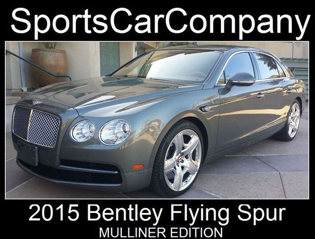 2015 Bentley Flying Spur FLYING SPUR MULLINER - 17492057 - 18