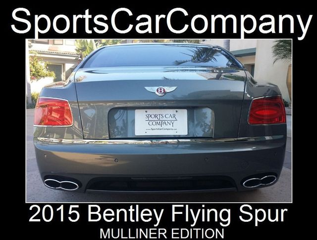 2015 Bentley Flying Spur FLYING SPUR MULLINER - 17492057 - 2