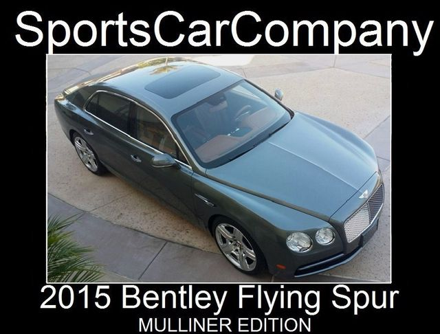 2015 Bentley Flying Spur FLYING SPUR MULLINER - 17492057 - 3