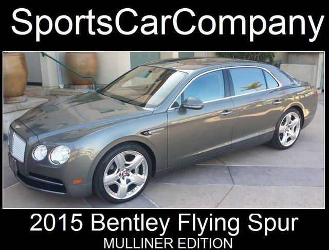 2015 Bentley Flying Spur FLYING SPUR MULLINER - 17492057 - 4
