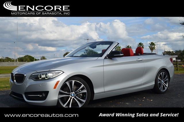 2015 BMW 2 Series 228i Convertible W/Premium and Sport Line Packages