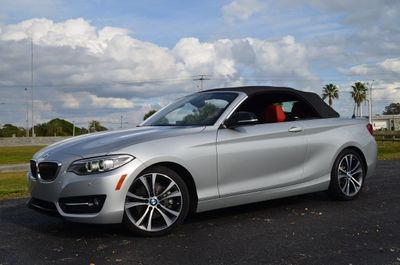 2015 BMW 2 Series 228i Convertible W/Premium and Sport Line Packages - Click to see full-size photo viewer