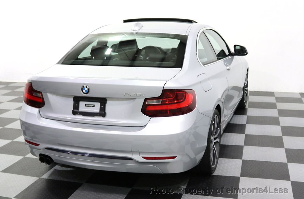 2015 BMW 2 Series CERTIFIED 228i SPORT LINE PREMIUM TECH NAVIGATION - 17958312 - 31