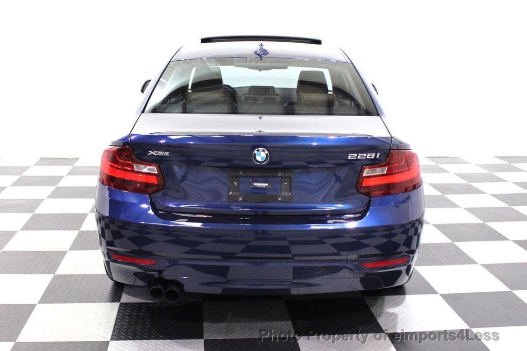 2015 BMW 2 Series CERTIFIED 228i xDRIVE AWD HK XENONS PREMIUM - 18147503 - 16