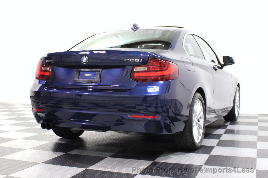 2015 BMW 2 Series CERTIFIED 228i xDRIVE AWD HK XENONS PREMIUM - 18147503 - 17