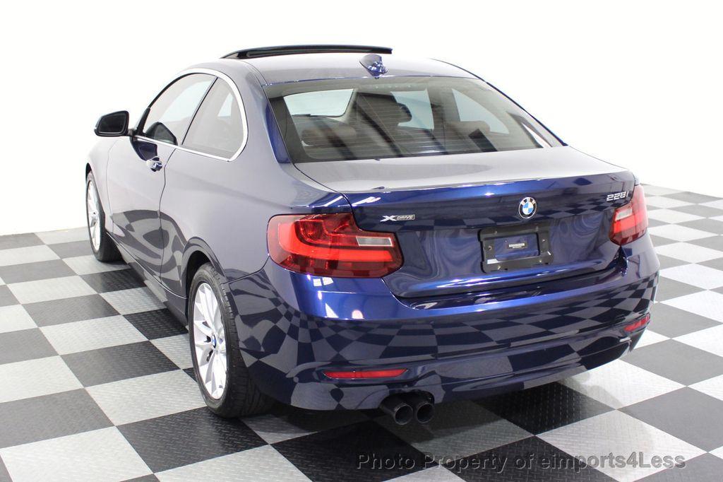 2015 BMW 2 Series CERTIFIED 228i xDRIVE AWD HK XENONS PREMIUM - 18147503 - 29