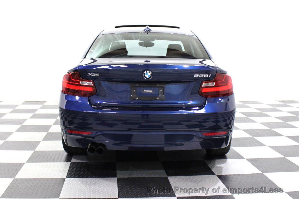 2015 BMW 2 Series CERTIFIED 228i xDRIVE AWD HK XENONS PREMIUM - 18147503 - 30