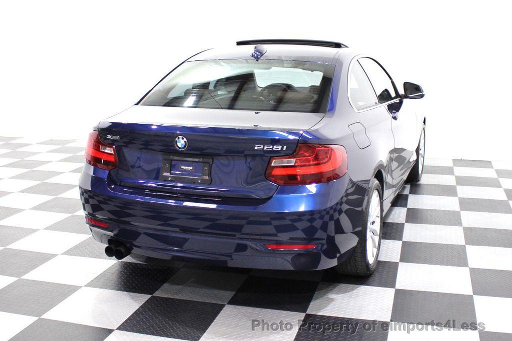 2015 BMW 2 Series CERTIFIED 228i xDRIVE AWD HK XENONS PREMIUM - 18147503 - 48
