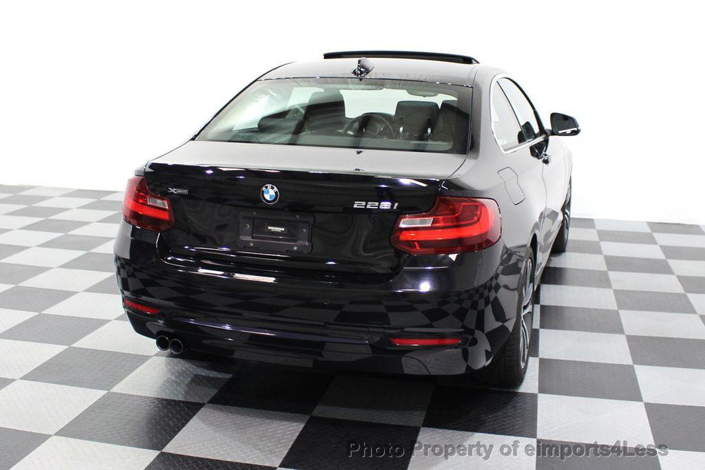 2015 BMW 2 Series CERTIFIED 228i xDRIVE AWD Sport Line TECH NAVIGATION - 18196736 - 32