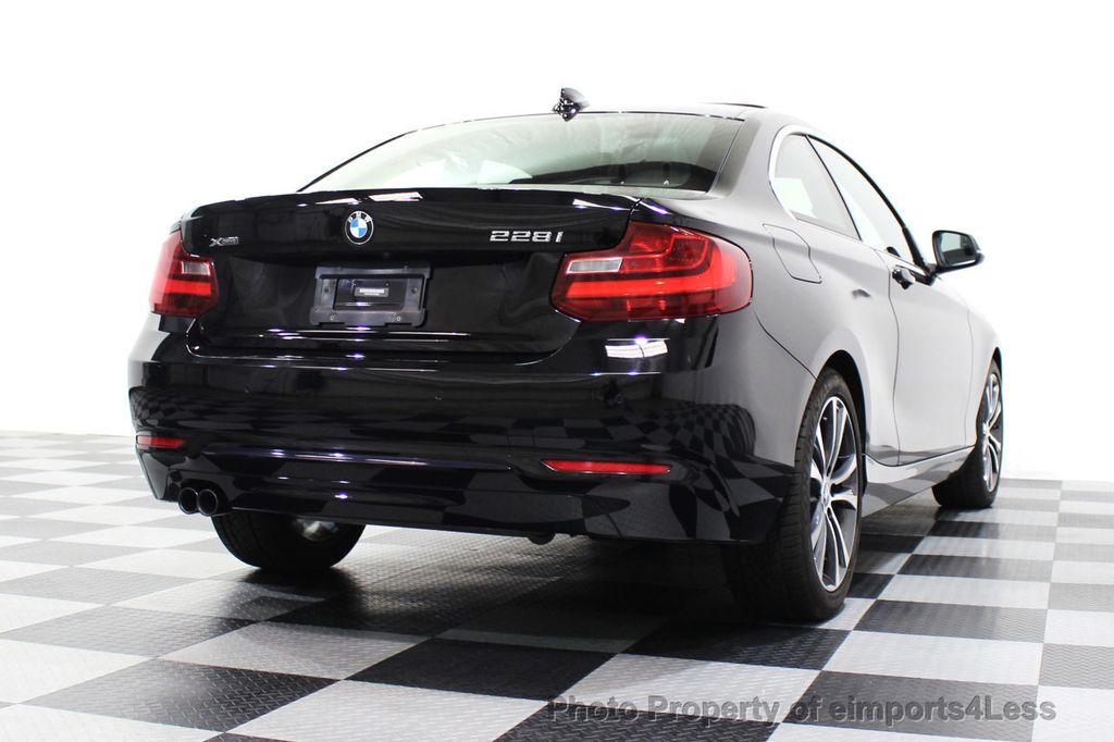 2015 BMW 2 Series CERTIFIED 228i xDRIVE AWD Sport Line TECH NAVIGATION - 18196736 - 3