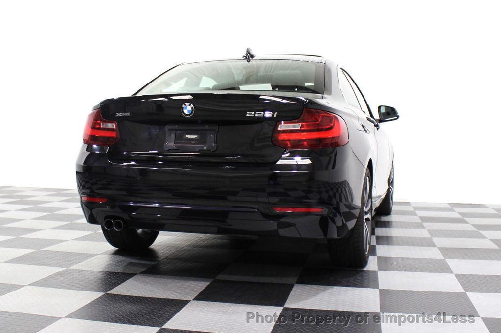 2015 BMW 2 Series CERTIFIED 228i xDRIVE AWD Sport Line TECH NAVIGATION - 18196736 - 54