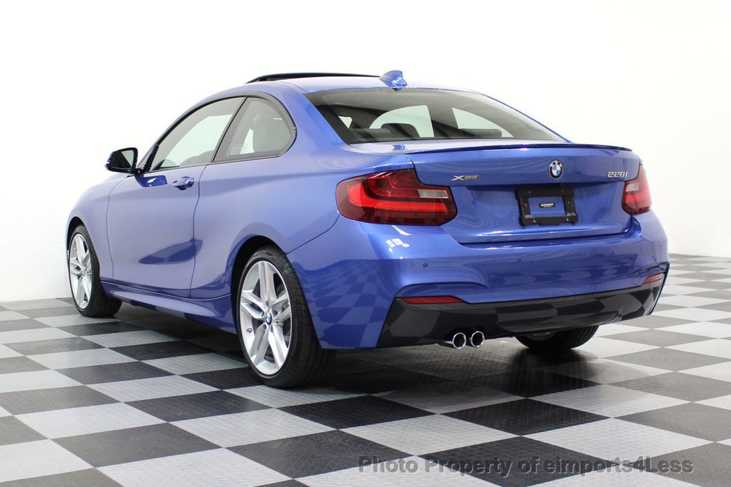 2015 BMW 2 Series CERTIFIED 228i xDRIVE M Sport Package AWD CAMERA NAVI - 17517062 - 16