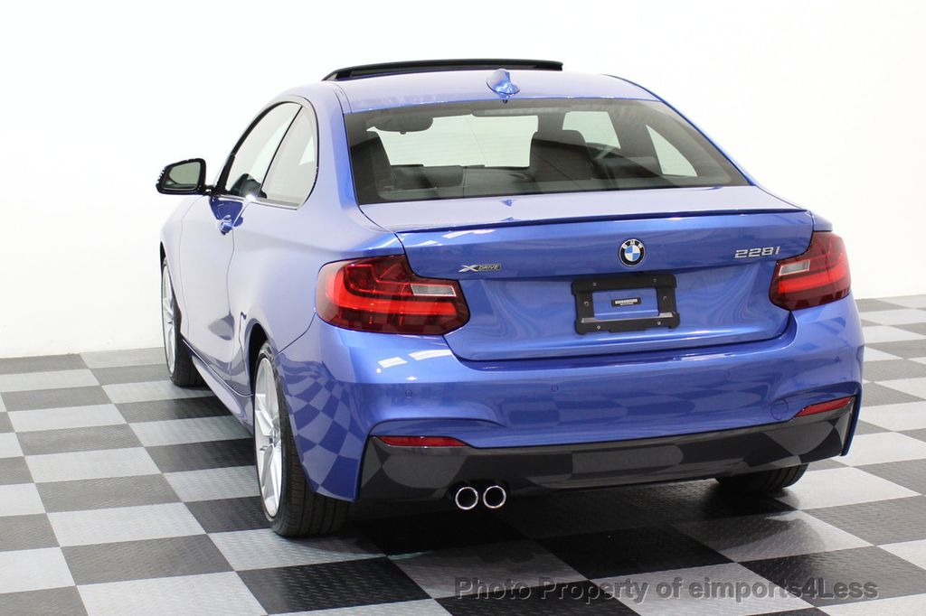 2015 BMW 2 Series CERTIFIED 228i xDRIVE M Sport Package AWD CAMERA NAVI - 17517062 - 29