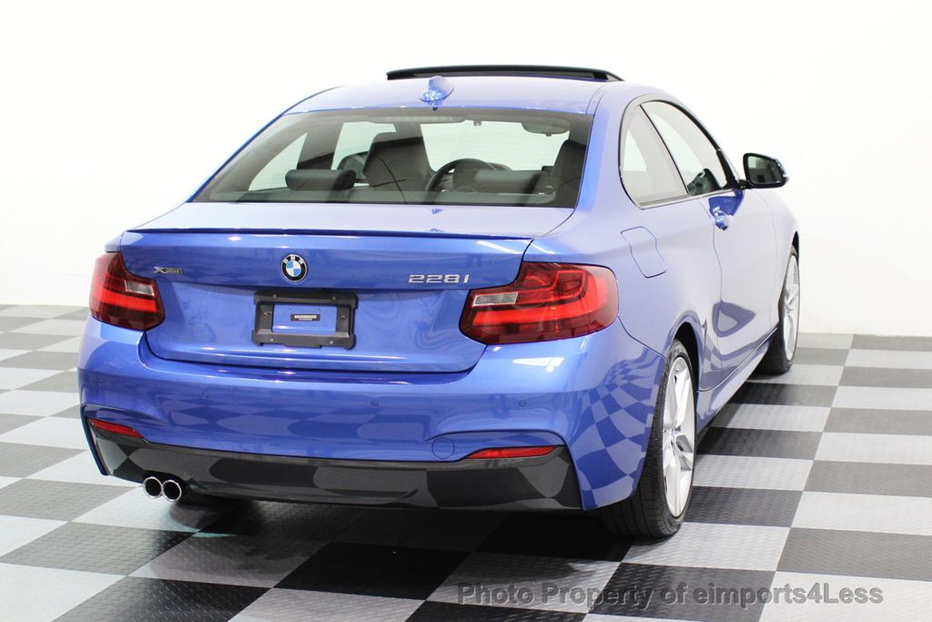 2015 BMW 2 Series CERTIFIED 228i xDRIVE M Sport Package AWD CAMERA NAVI - 17517062 - 31