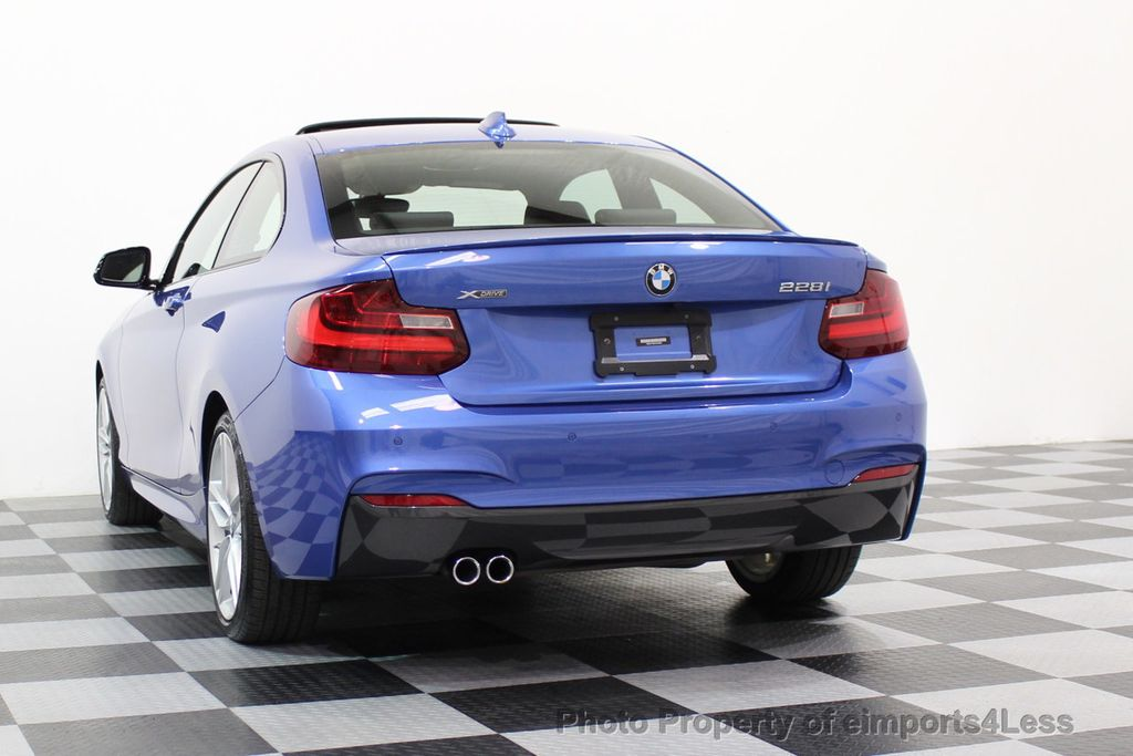 2015 BMW 2 Series CERTIFIED 228i xDRIVE M Sport Package AWD CAMERA NAVI - 17517062 - 44