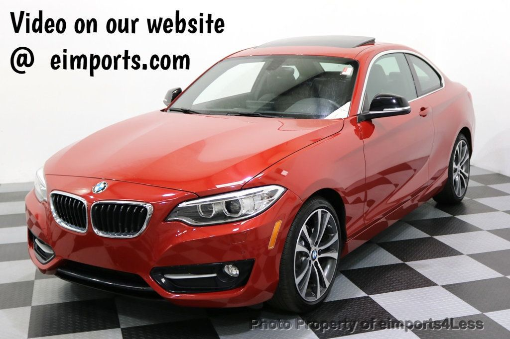 2015 BMW 2 Series CERTIFIED 228i xDRIVE Sport Line AWD CAMERA NAV TECH - 17775875 - 0