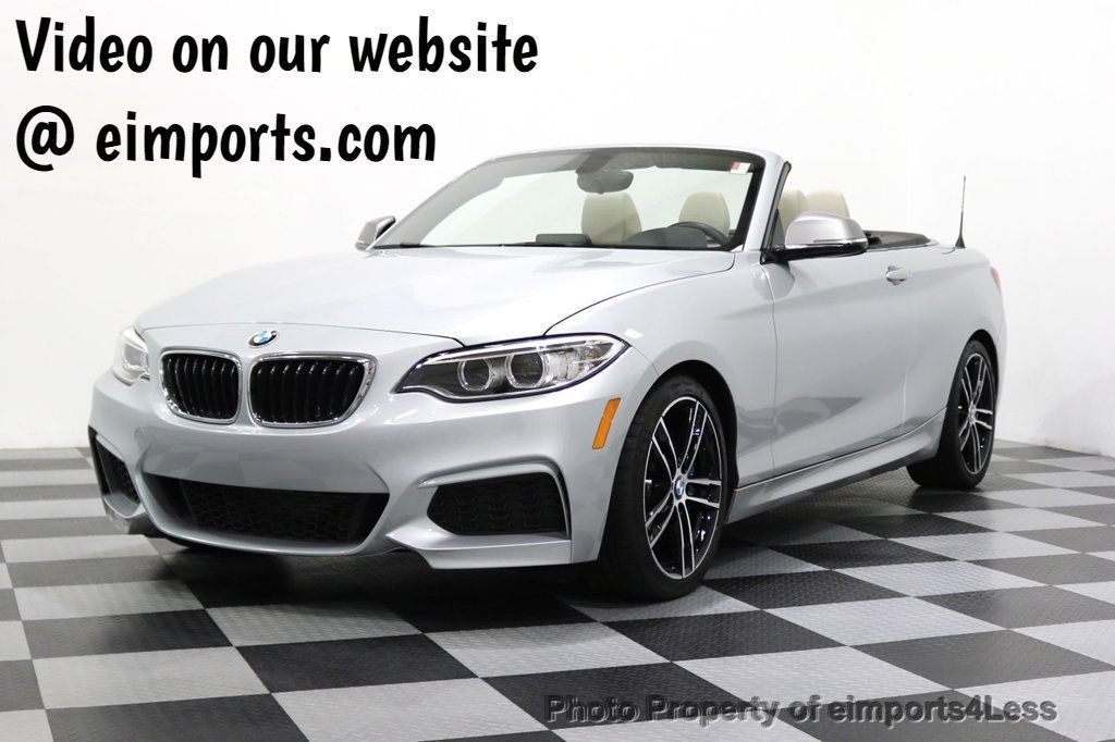 2015 BMW 2 Series CERTIFIED M235i CONVERTIBLE 6 SPEED MANUAL - 17869997 - 0