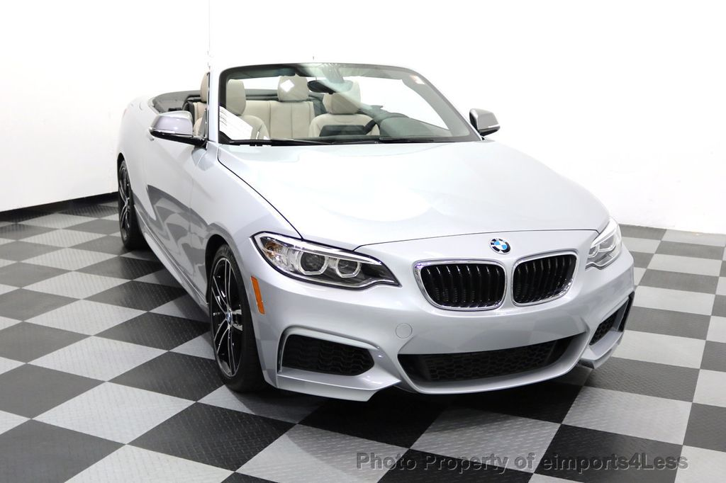 2015 BMW 2 Series CERTIFIED M235i CONVERTIBLE 6 SPEED MANUAL - 17869997 - 14