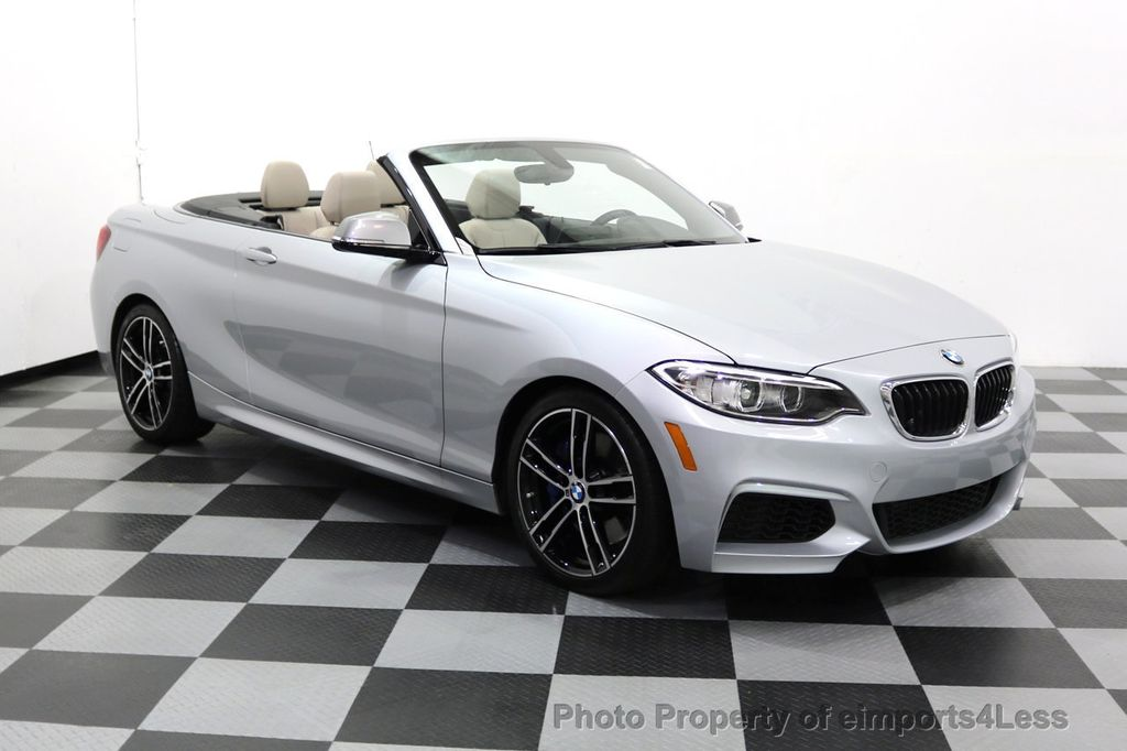 2015 BMW 2 Series CERTIFIED M235i CONVERTIBLE 6 SPEED MANUAL - 17869997 - 1