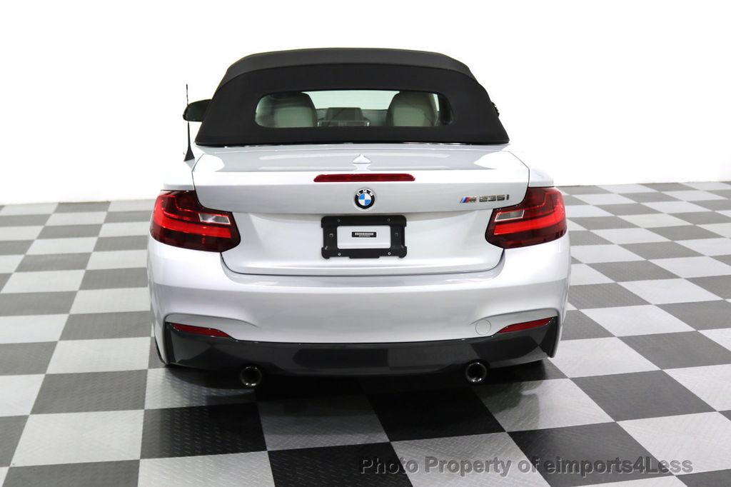 2015 BMW 2 Series CERTIFIED M235i CONVERTIBLE 6 SPEED MANUAL - 17869997 - 30