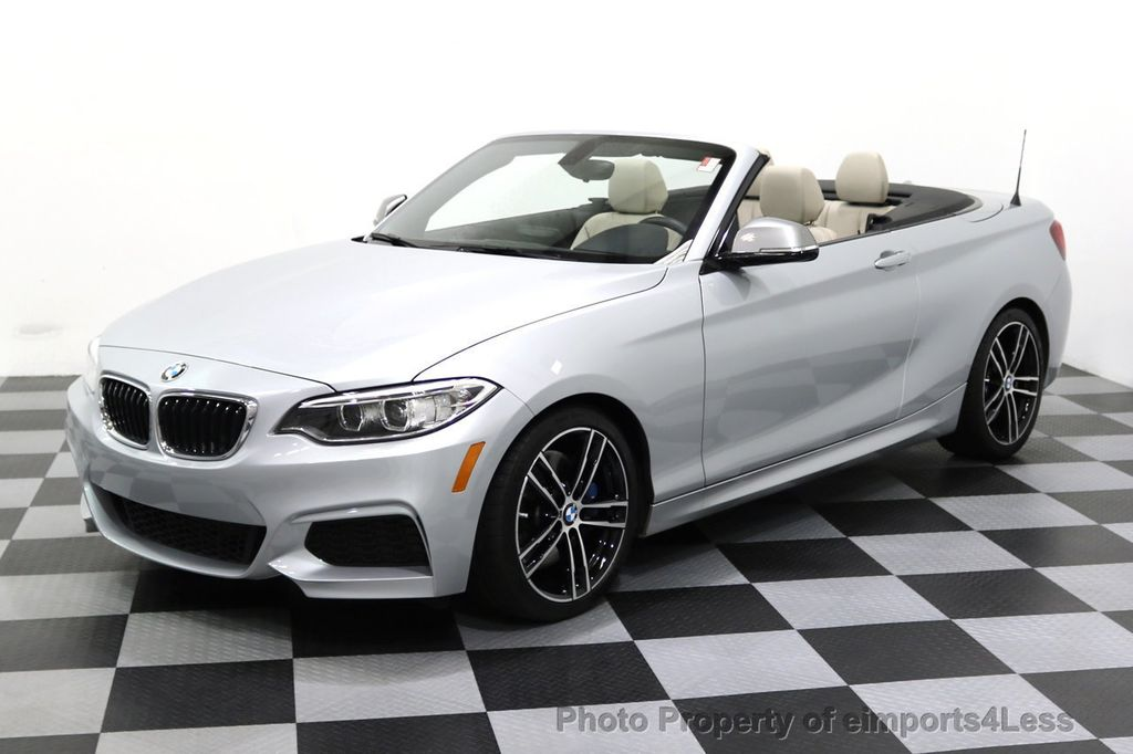2015 BMW 2 Series CERTIFIED M235i CONVERTIBLE 6 SPEED MANUAL - 17869997 - 43