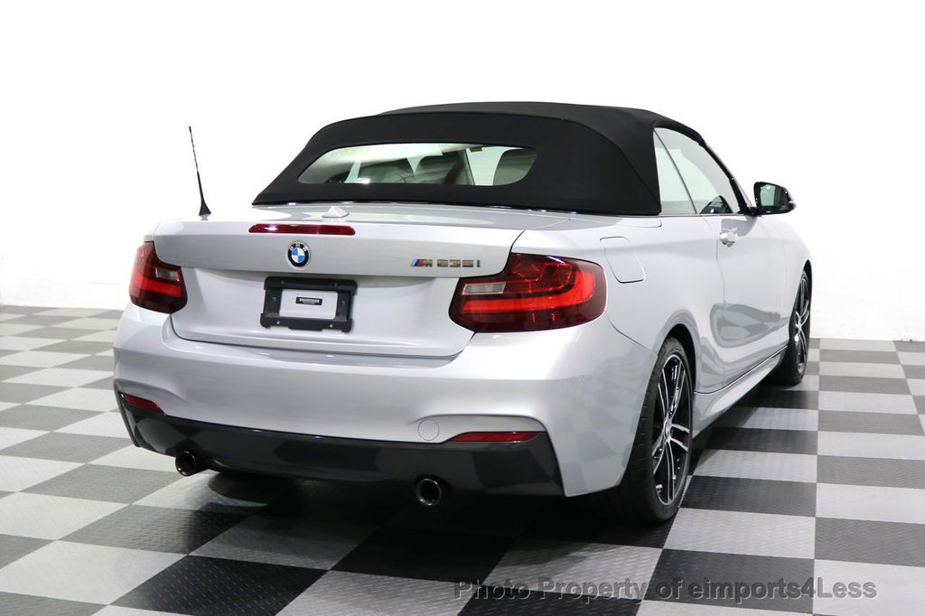 2015 BMW 2 Series CERTIFIED M235i CONVERTIBLE 6 SPEED MANUAL - 17869997 - 46