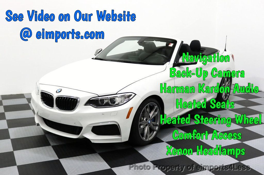 2015 BMW 2 Series CERTIFIED M235i PREMIUM TECH ASSIST CAMERA NAVI - 17696955 - 0