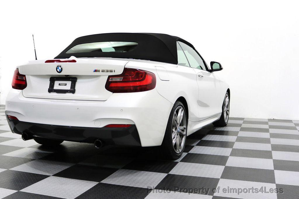 2015 BMW 2 Series CERTIFIED M235i PREMIUM TECH ASSIST CAMERA NAVI - 17696955 - 31